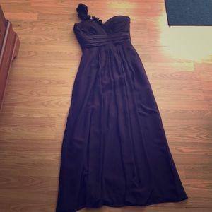 Bill Levkoff Long Bridesmaid Dress
